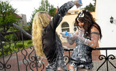 All Wam Very Cute Hotties Love Playing With Whipped Cream Outdoors All Wam