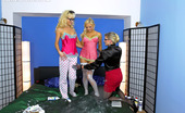 All Wam Three Cute Crazy Blondes Like Creaming Their Hot Bodies All Wam