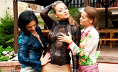 All Wam Cute Clothed Hotties Playing With Dirty And Slippery Slime All Wam