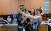 All Wam Naughty Babes Getting Drunk And Making A Big Mess Together All Wam