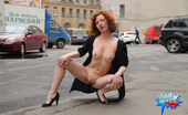 Cuties Flashing 487682 Taking A Look At A Yummy Bald Pussy In The Street Cuties Flashing