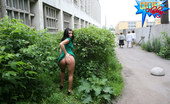 Cuties Flashing Perfect Bitch Flashes Boobs And Pussy In The Bush Cuties Flashing