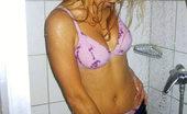 Ebina Models Istephanija Blindfolded In The Shower Ebina Models