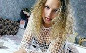Ebina Models (XXX) Blonde Slut Alfia In Fishnet Ebina Models
