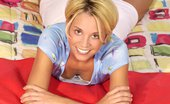 Ebina Models (XXX) Blonde Teen Hottie Kristin Spreading In The Bed Ebina Models