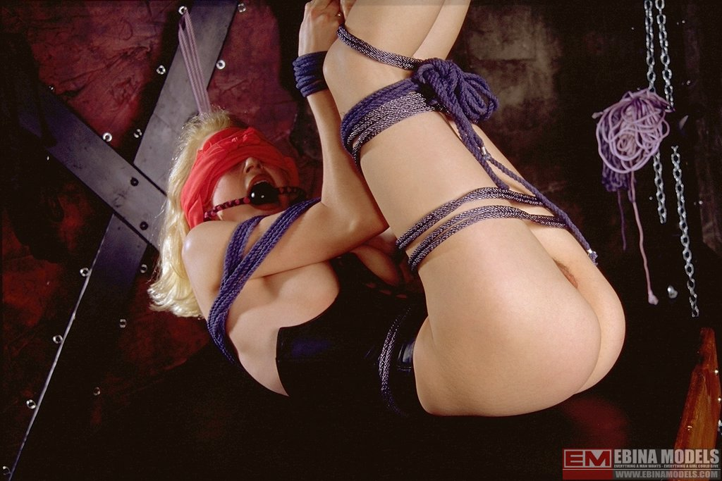 Ebina Models 488903 (XXX) Alisa Gaged And Tied In The Dungeon Ebina Models
