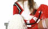 Ebina Models (XXX) Cutie Devaun Posing In Cheerleader Outfit Ebina Models