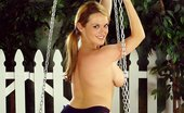 Ebina Models (XXX) Mandy Fisher On The Swing Showing Her Tits Ebina Models