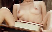 Ebina Models (XXX) Teen Bookworm Anna May Spreading Her Pink Ebina Models