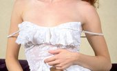 Ebina Models 489283 (XXX) Redhead Anna Lieb Looking Horny In All White Ebina Models