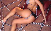 Ebina Models 489513 (XXX) Foxy Nikki Nova Tied To A Big Wheel Ebina Models