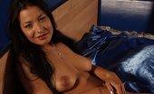 Ebina Models (XXX) Brunette Romana K Teasing In Bed Ebina Models