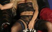 Ebina Models (XXX) Blonde Lola Showing Her Great Tits Ebina Models