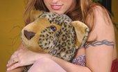 Ebina Models (XXX) Fit Model Rhiannon Bray In Red Nighty Ebina Models