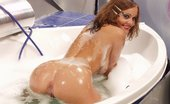 Ebina Models (XXX) Clean Shaved Lenka K Taking A Hot Bath Ebina Models