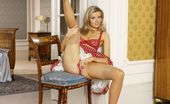 Sweet Irena Stunning Irena Rips Herself Out Of The Pantyhose Sweet Irena