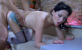Love Nylons Maggie & Nicholas Topless Babe In Colored Gartered Nylons Gets Banged After Oral Sixty-Nine Love Nylons