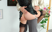 Love Nylons Marion & Adam Hot Guy Sliding Cock Into Babe'S Black Nylons Begging For Sex At Exhibition Love Nylons