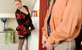 Love Nylons Susanna & Morris Freaky Chick In Barely Black Stockings Fucking Like There Is No Tomorrow Love Nylons