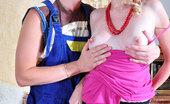 Love Nylons Cecilia & Clifford Gorgeous Babe In Classy Nylons Offers A Drink To A Handyman Before A Fuck Love Nylons