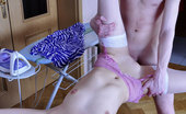 Love Nylons Esther & Horace Blonde Babe In White Lacy Stockings Quits Ironing For Morning Hardcore Sex Love Nylons