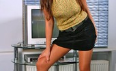 Pantyhose TV Hot Busty Girl In Exciting Pantyhose Show Pantyhose TV