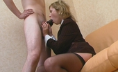 Nylon Screen Lewd Lady-Boss In Luxury Stockings Showing What Real Fucking Pleasure Means Nylon Screen