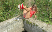 Pissing Outdoor MILF Blode Pissing In The Park PoolSmall Tits Milf Blonde Helen Pissing In The Urban Pool In The City Park Pissing Outdoor