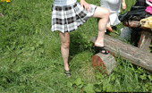 Pissing Outdoor Teen Blonde Pissing On The Walk With FriendTeen Blonde Galina Pissing Outdoor When They Come To The Forest With Her Friend And She Wanted To Piss Pissing Outdoor
