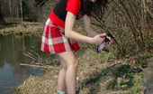 Pissing Outdoor 495801 Outdoor Pissing On The Dry Grass On A Pond ShoreOutdoor Pissing On The Dry Grass Near The Pond Makes Teen Brunette Valeria Feeling Completely Happy Pissing Outdoor