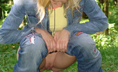 Pissing Outdoor 495860 Pissing Outdoor In The Green ForestPissing Outdoor Is A Great Fun For Teen Blonde Olga And She Does Outdoor Pissing On Any Occasion As Like This Time Pissing Outdoor