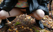 Pissing Outdoor Outdoor Pissing In A Cold Autumn DayTeen Brunette Maria Pissing Outdoor In The Sparse Growth Of Trees Wearing A Coat With Hood As It Is Quite Cold Already Pissing Outdoor