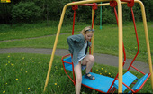 Pissing Outdoor Pissing On A Outdoor TeeterboardOutdoor Pissing On A Teeterboard Where Blonde Irina Has Got Tired And Sat Down To Rest And Piss Pissing Outdoor