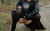 Pissing Outdoor 495946 Outdoor Pissing In Leather JacketOutdoor Pissing Of Teen Blonde In Black Leather Jacket Walking In Suburbs And Suddenly Wanter To Piss Pissing Outdoor