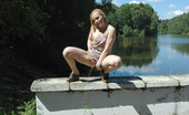 Pissing Outdoor Pissing From Concrete FenceOutdoor Pissing Of Teen Blonde Irina When She Walks Along The Concrete Fence And Pissing On Asphalt Pissing Outdoor