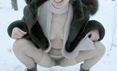 Pissing Outdoor Winter Outdoor Pissing Of Blonde BabeTeen Blonde Marina Pisses Outdoor In The Nature During The Winter When Pissing Is Pretty Risky Pissing Outdoor