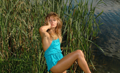 Pissing Outdoor Piss In SedgeGirl Goes Into The Lake And Piss In The Sedge Pissing Outdoor
