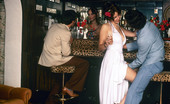 Private Classics Unknown Bar Fucking Seventies Girl Gets A Free Cocktail In A Bar From Two Guys Private Classics
