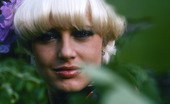 Private Classics Unknown Seventies Model Cute Blond Seventies Model Gets Fully Naked In The Backyard Private Classics
