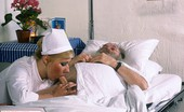 Private Classics Unknown Classic Hospital Sex Classic Blond Nurse Seduces Horny Old Patient And Fucks Him Private Classics