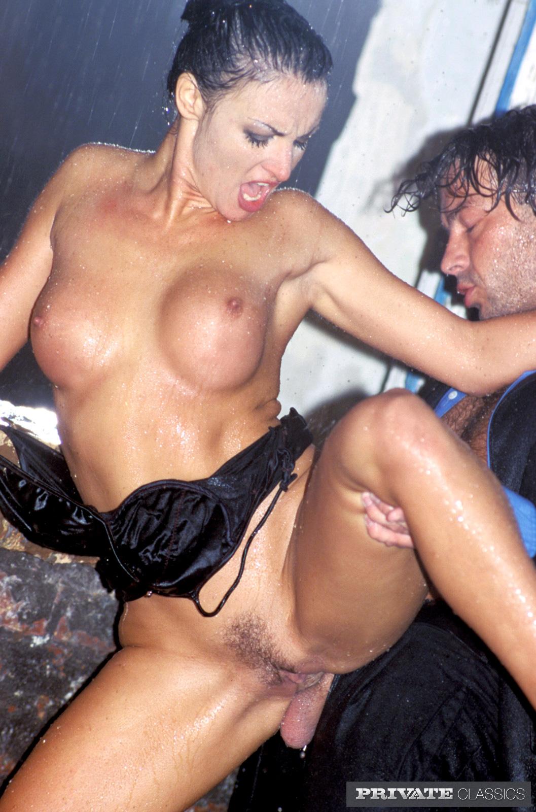 fucking in the rain laura malmivaara porno