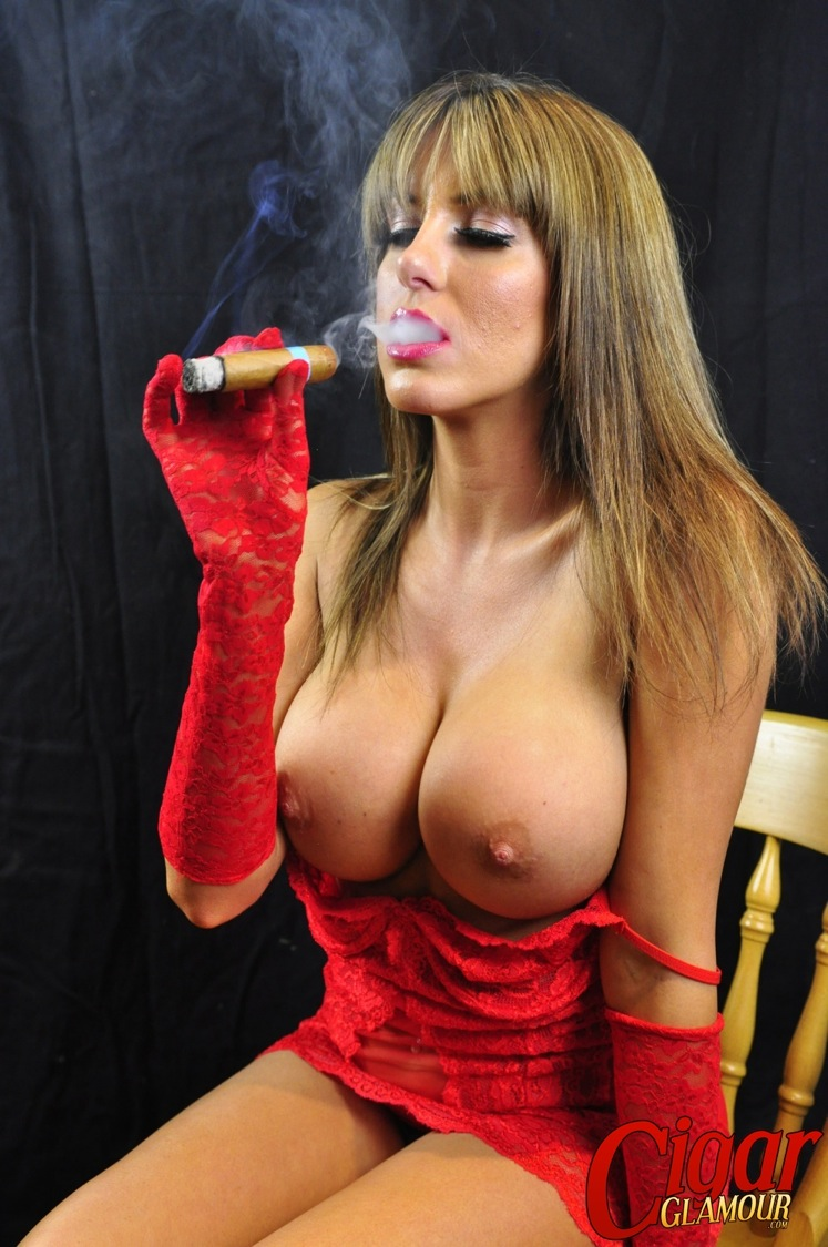 Cigar smoking porno