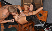 Carly Cum Slut 497283 Carly Cumslut Is Tied To A Rack And She Is Getting Licked And Fucked Hard. Carly Cum Slut