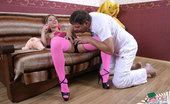 Her Old Teacher 497515 Old Man Gives Teeny In Pink Nylons A Mouthful Teeny In Pink Stockings And High-Heel Shoes Gets Fucked And Takes A Mouthful From Her Old Teacher Her Old Teacher