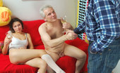 Her Old Teacher Two Old Teachers Double-Team Hot Teeny Horny Old Teacher Joins Another Depraved Grandpa To Double-Team His Cute Teen Student Her Old Teacher
