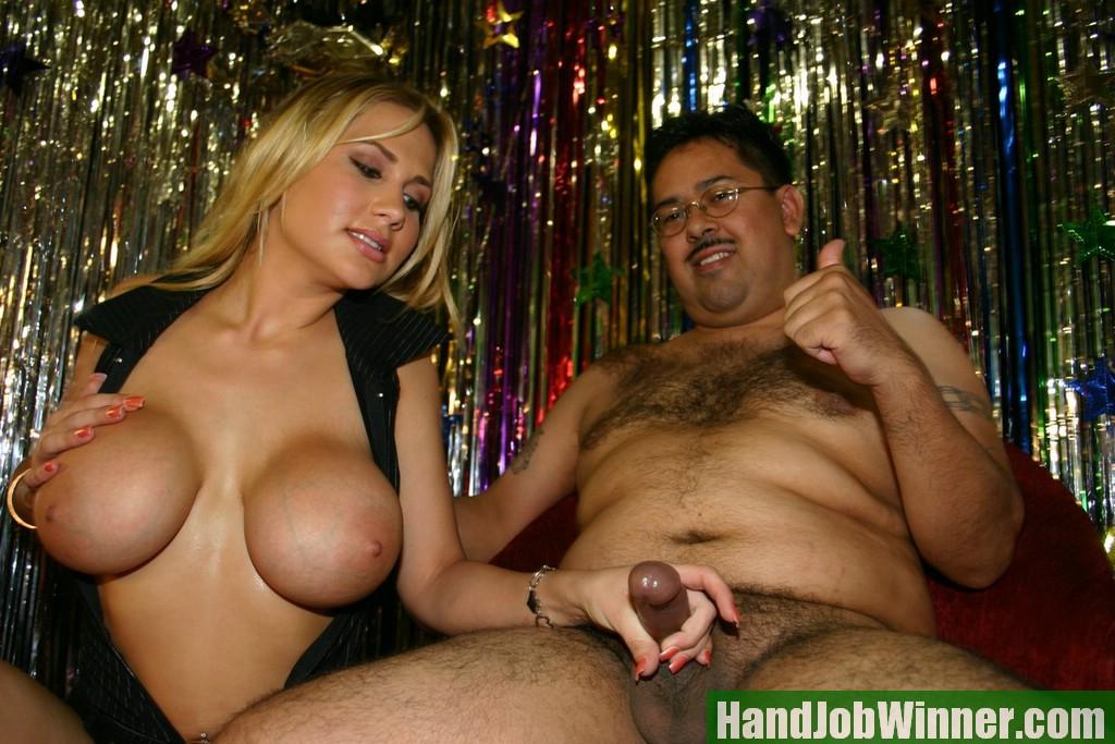 Hot Girl Gives Handjob Pov