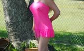 Gang Bang Dee Hot Wife Dee Sets Her Massive MILF Milk Juggs Free Outdoors On Easter Gang Bang Dee