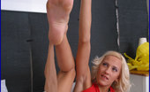 Foot Fetish Dreams Blonde Babe Showing Legs Foot Fetish Dreams