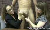 Taboo Tug Jobs Cougars Mrs. Cook And Mrs. Wilson Love Hung Guys Mrs. Cook And Mrs. Wilson, Two Of The Sexiest Milfs In The Office, Have A Sweet Tooth For Big Long Cocks. Rumor Is The New Assistant Is Packing A Gigantic Piece Of Meat. Taboo Tug Jobs