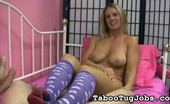 Taboo Tug Jobs Jenny'S Sexy Knee High Socks Jenny Loves Giving Foot Jobs To Cocks She Likes. Of Course, She Has To Wear Her Knee High Socks. That'S The Only Way She Can Stroke Off A Guy With Her Sexy Feet. Taboo Tug Jobs